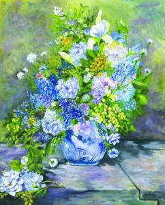 Renoir's Flowers by Gretchan Pyne