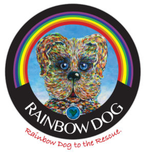 RAINBOW DOG TO THE RESCUE