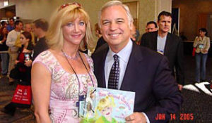 """Gretchan with Jack Canfield co-author of """"Chicken Soup for the Soul: and other titles as well as motivational speaker."""
